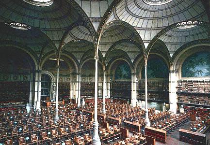 Bibliothèque nationale ( Henri Labrouste)