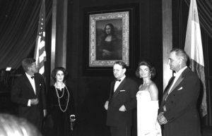 Malreaux Mona Lisa at the White House