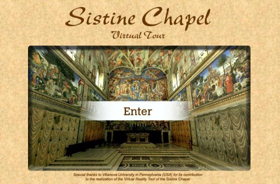 SISTINE CHAPEL VIDEO TOUR