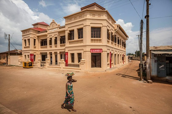 Foundation Zinsou museum of African contemporary art in Ouidah