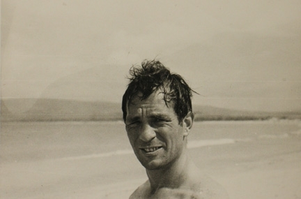 Kerouac on the beach pf45413-1