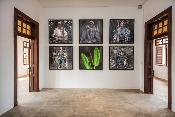 Zinsou foundation contemporary African art in the Villa Ajavon in Ouidah