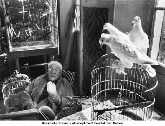 Matisse Henri-Cartier-Bresson-Intimate-New