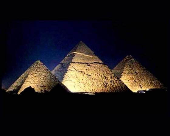 Pyramids Night