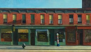 Edward Hopper EARLY SUNDAY MORNING 1930