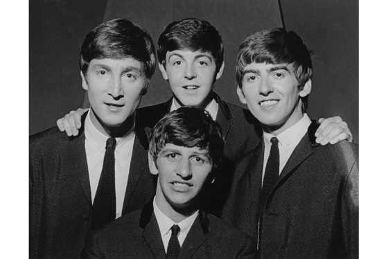 David Farrell, The Beatles, c.1962. © David Farrell, courtesy of Osborne Samuel.