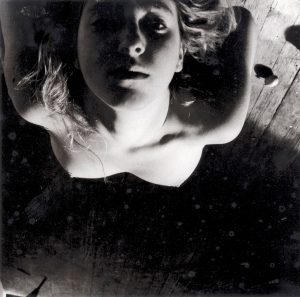 Francesca Woodman On Being an Angel # 1, 1977 Photograph Courtesy of George and Betty Woodman and  Marian Goodman Gallery, New York