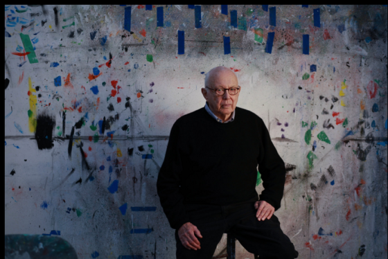 Ellsworth Kelly in his studio in Spencertown, N.Y., in 2012. Credit Fred R. Conrad/The New York Times