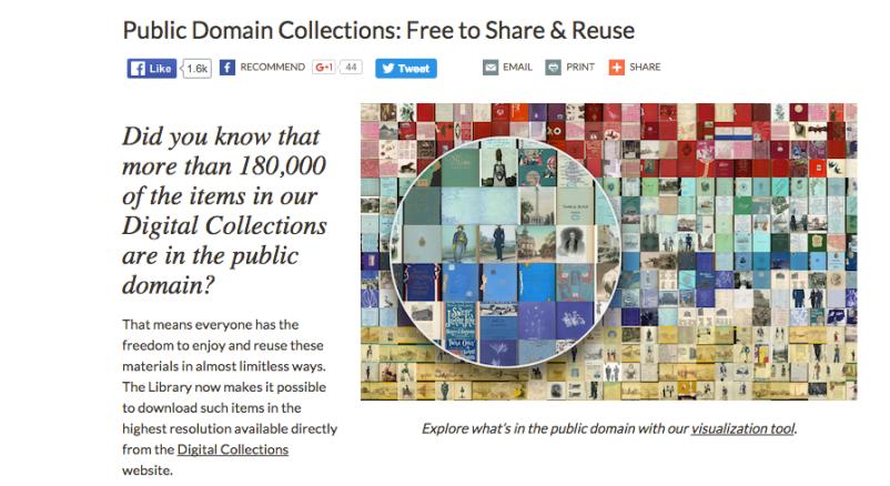 NYPL Public Domain - ree to Use