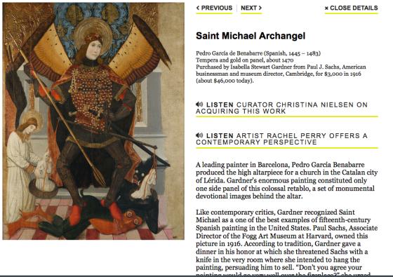 Saint Michael Archangel - Pedro Gaerc'ia de Benabarre (Spanish 1445-1483)