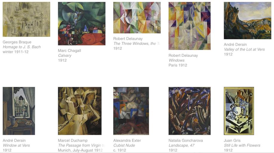 MoMA screenshot