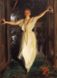 Isabella Stewart Gardner in Venice (1894), by Anders Zorn (Gardner Museum)