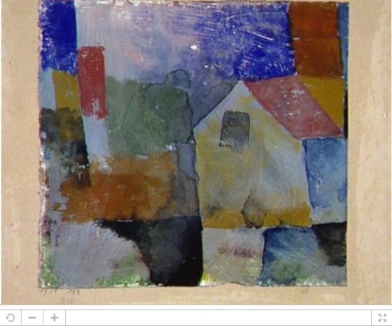 Paul Klee Ein Haus