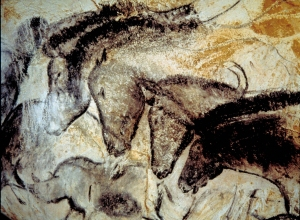 Chauvet Horses. Photo courtesy of the French Ministry of Culture and Communication.