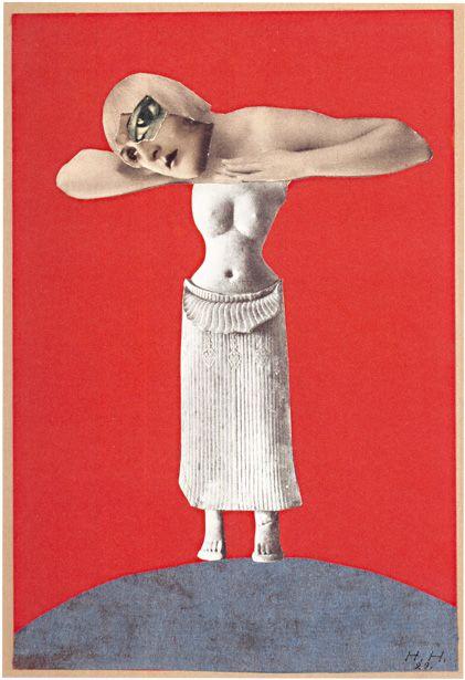 """Hannah Höch """"Ohne Titel (Aus einem ethnographischen Museum),"""" 1930 Museum für Kunst und Gewerbe Hamburg"""