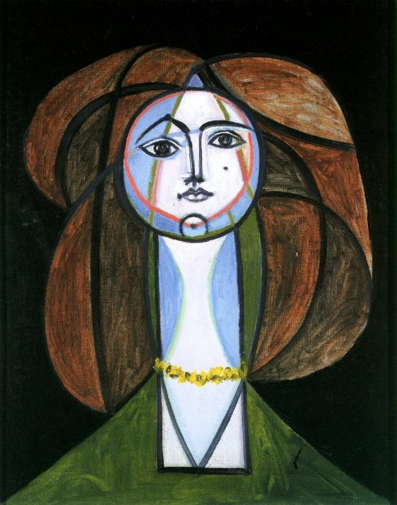 Pablo Picasso, 'Femme au collier jaune', 1946, Private collection © Succession Picasso / 2016, ProLitteris, Zurich