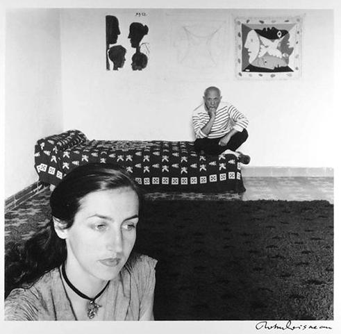 Françoise Gilot - Picasso, Robert Doisneau