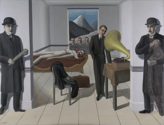 René Magritte, The Magriet, Menaced Assassin (L'Assassin menacé), 1927