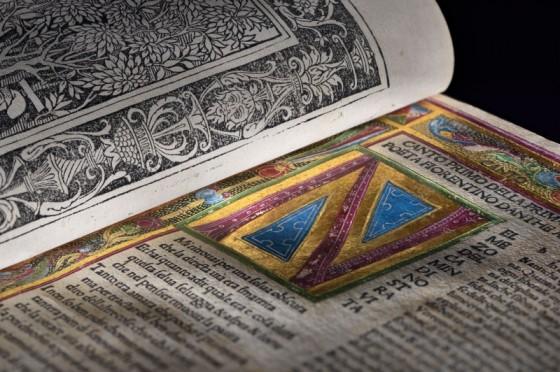 """The """"Divine Comedy."""" Printed by Bonino De Bonini, (1487)."""