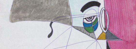 """""""So it Goes,"""" Drawings by Kurt Vonnegut"""