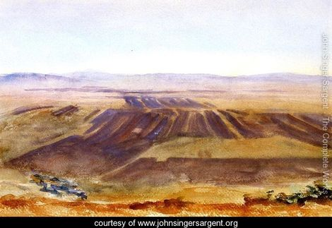 Sargent 10 The-Plains-from-Nazareth
