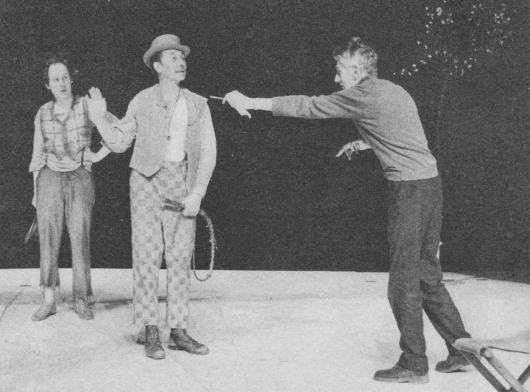 Beckett directing Waiting for Godot in Berlin in 1975