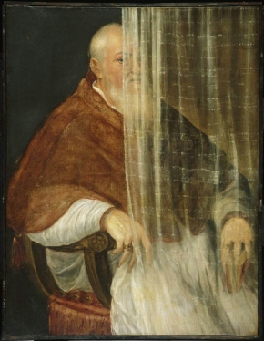 Titian Portrait_of_Cardinal_Filippo_Archinto_c1555