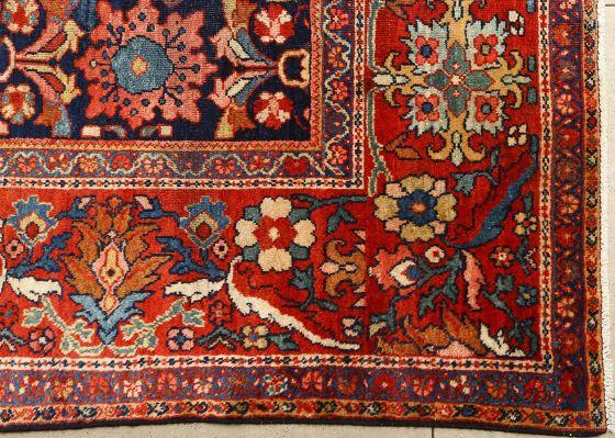 Islamic Art Antique Malyer Persian Carpet (Detail)