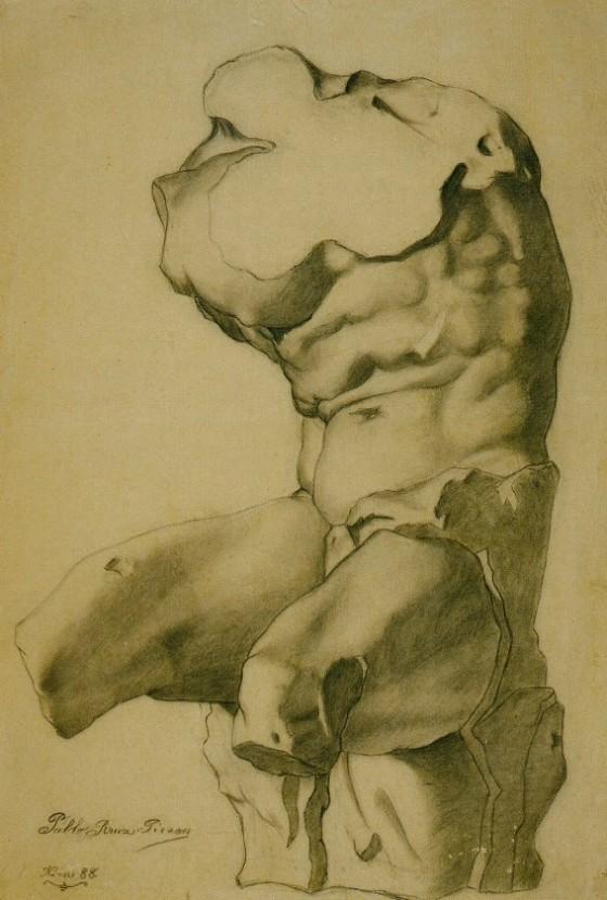 Picasso Study for Torso